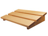 Hoofdsteun van massief espenhout