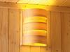 Lamp vervaardigd vanuit espenhout.