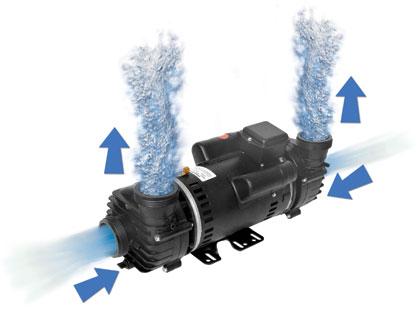 Hot tubs spas genesis g518b hot tubs spas hot tub spas for Cal spa dually pump motor