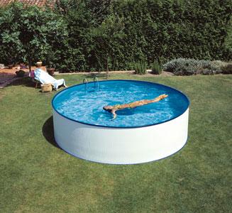 Stevig zwembad halve parasol for Afdekzeil zwembad blokker